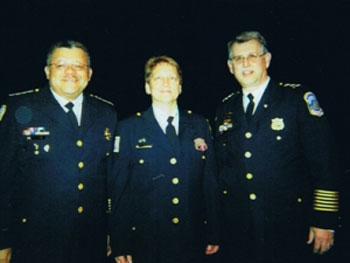 Laura Liswood's graduation from DC's Police Academy